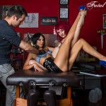 Fatal Pixels: Model Claudia Rylie, Nezi JinXx